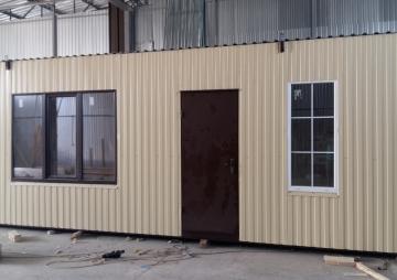 Дача: 2 окна и дверь