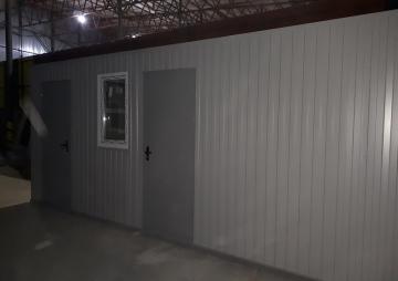 блок-контейнер 2 двери