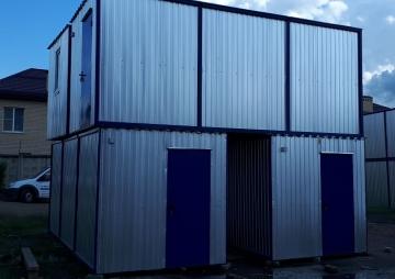 Модульное здание для строителей
