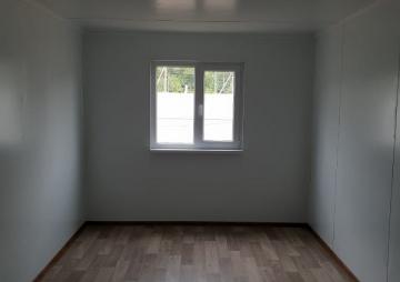 Модульное здание окно