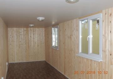 Главная комната на 2 окна