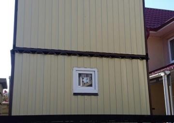 Блок-контейнер 2 этажа вид с торца