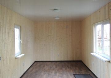 Комната на даче с 2мя окнами