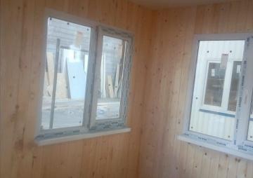 Проходная на КПП вид на 2 окна